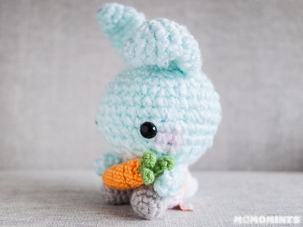 Limited Edition Amigurumi Bunny with Poseable Ears