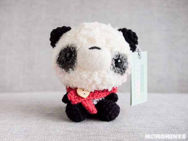 Momomints Winter Panda for Plush You! Exhibit in Seattle, WA