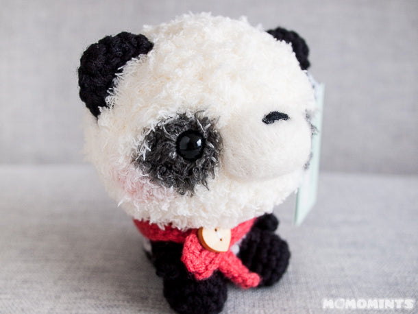 Momomints Limited Edition Plush You! Panda at Schmancy in Seattle, WA