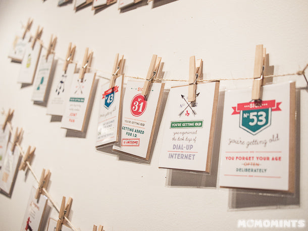 UnwrapEtsy Etsy Pop-up Shop Vancouver: Hanging Christmas Cards