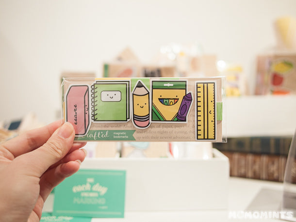 UnwrapEtsy Etsy Pop-up Shop Vancouver: Crafted Van Magnetic Bookmarks