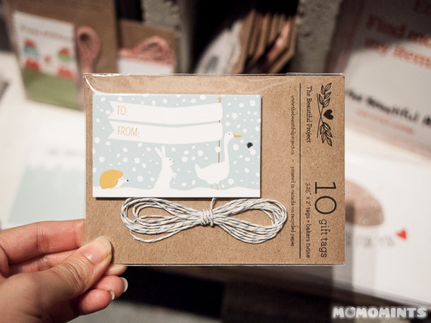 UnwrapEtsy Etsy Pop-up Shop Vancouver: The Beautiful Project Gift Tags