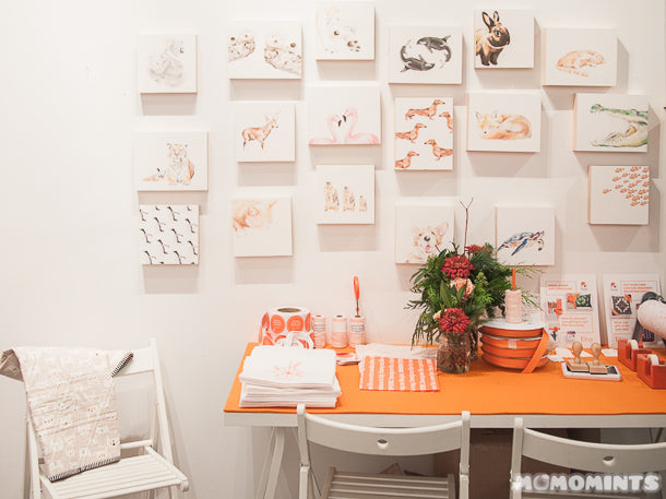 UnwrapEtsy Etsy Pop-up Shop Vancouver: Wrapping Station with Triple.Studio Canvases