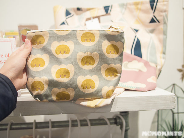 UnwrapEtsy Etsy Pop-up Shop Vancouver: Lovely Printed Canvas Zip Bags