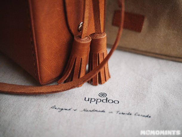 Beautiful Tassel Details on this Leather Uppdoo Bag