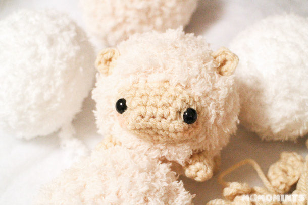 momomints' Facebook Preview of our New Amigurumi Sheep