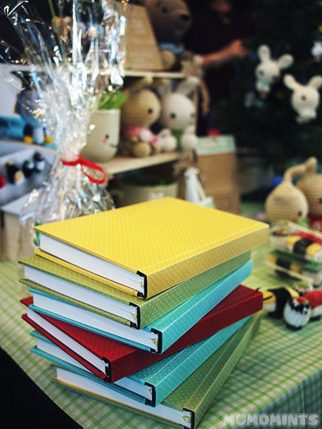 momomints' New Hardcover Sketchbook Journals