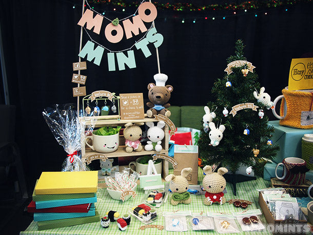 momomints at the BCIT Under the Tree Christmas Fair 2013