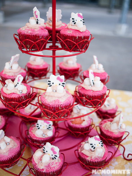 JustMoCah Vancouver Meet-up with Hello Kitty Cupcakes by Celestial Cakes