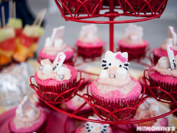 Hello Kitty Cupcakes Close-up!