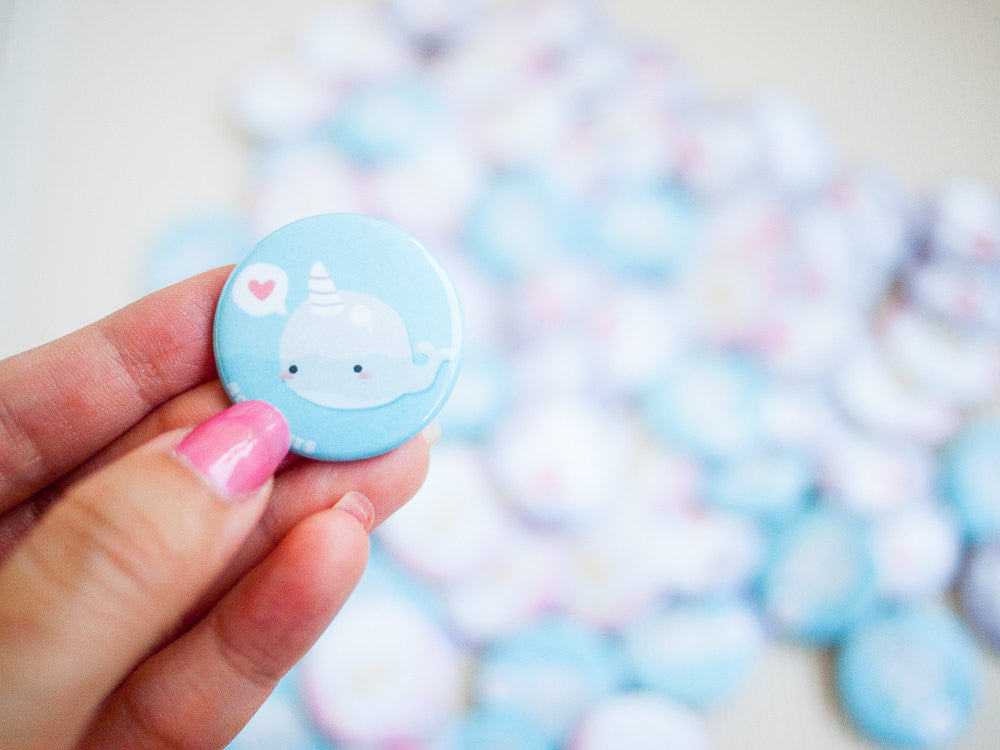 Cute Magical Pastel Button Pins