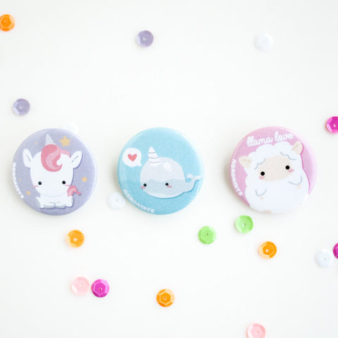 Cute Button Pins