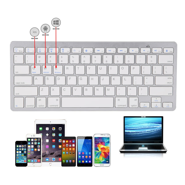 Universal Wireless Keyboard 3.0 bluetooth Keyboard for  Mac Os System