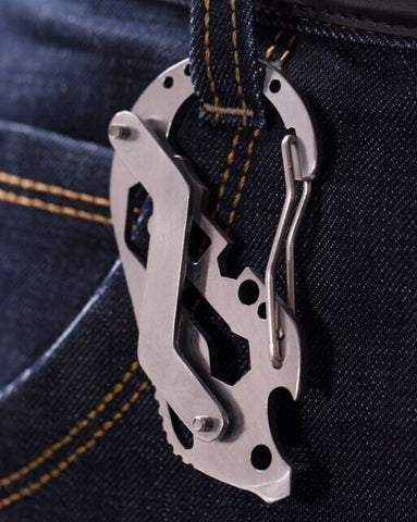 Multi tool utility Key kit EDC clip