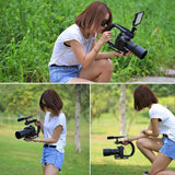 Stabilizer for camera. Steady cam stick handheld