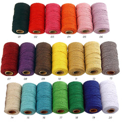 100m Long/100Yard Pure Cotton Twisted Cord