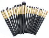 20Pc Makeup Professional Cosmetics Brushes