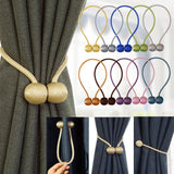 Magnetic Curtain Tieback. Polyester Decorative Accessorie