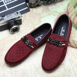 fashion Men Flats Light Breathable Shoes
