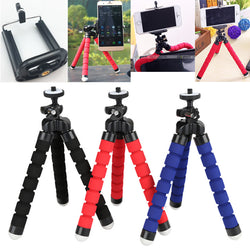 Flexible Sponge Octopus Tripod for Phone/Camera