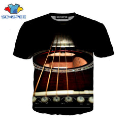 3d print Guitar/Bass t-shirt