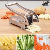 2 Blades Stainless Steel Home French Fries