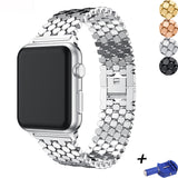 Strap for Apple watch band 42mm 38mm iWatch band Metal Stainless steel