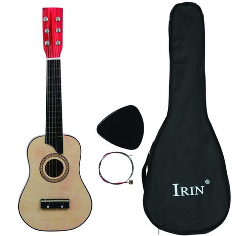 25 Inch Acoustic Guitar With Bag For Children