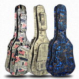 40/41 Inch Guitar Soft Case Backpack Shoulder Straps