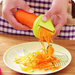 1pcs/kitchen vegetable spiral slicer/shredded