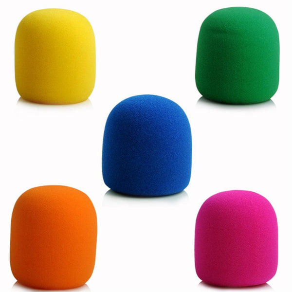 5Pcs/pack Colors Microphone Foam