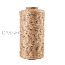 100m Natural Jute Baker Twine Hemp Rope DIY