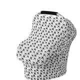 Stretchy Car Seat/nursing Cover different patterns.