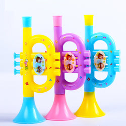 Trumpet toy for babies or little kids