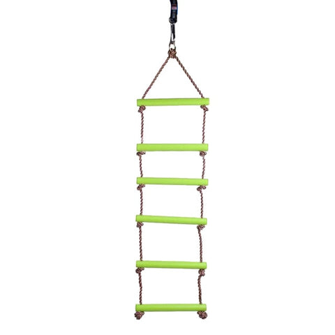 Kids/Baby Indoor & Outdoor Swing Seat Rope Climbing Ladder Garden Playground Toy