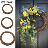 10-30cm Rattan Hoops for decorations. Wedding deco. Party supplies. Wreath hanging ornaments.