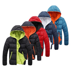 Winter Jacket Men Thick Warm down jacket Snow