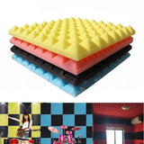 Acoustic Soundproof  Absorption Pyramid Tiles Foam