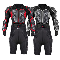 Motorcycle Armor Set Men Chest Back Protection Suit