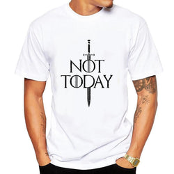 Not Today Men's T-shirt Top Tees
