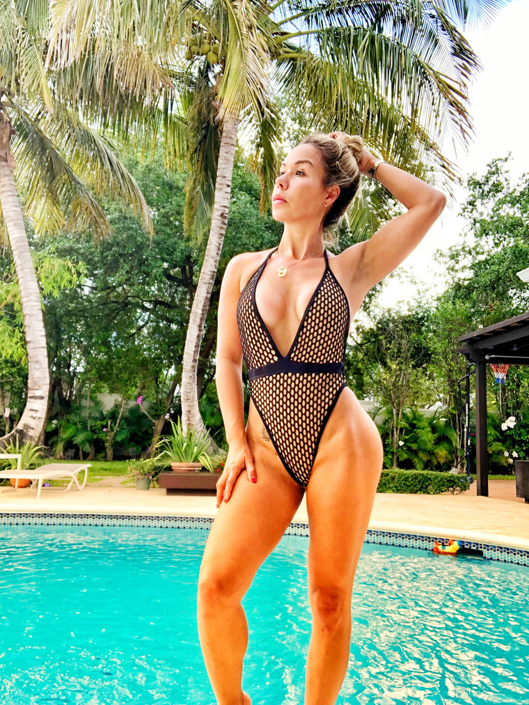 Honolulu Net One Piece
