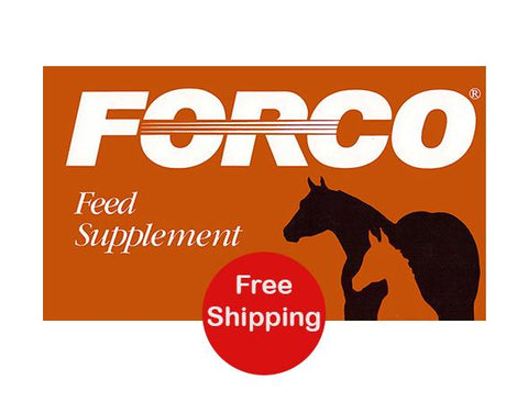Forco Feed Supplement - Pail (Pellets)