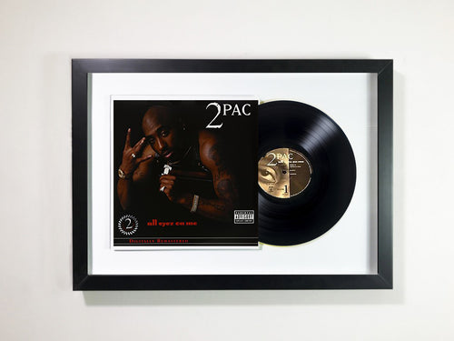2Pac- All Eyez On Me Framed 12