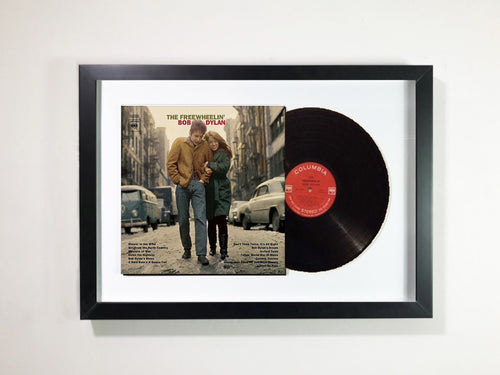 Bob Dylan- The Freewheelin' Bob Dylan Framed 12