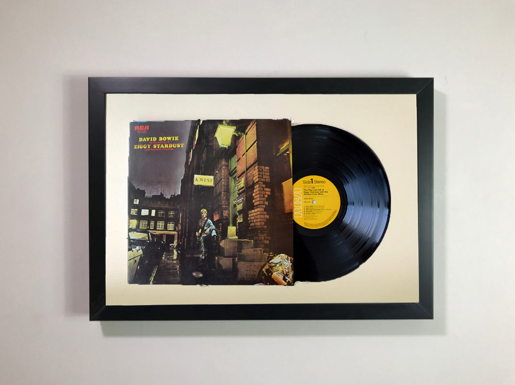 David Bowie- The Rise and Fall of Ziggy Stardust and the Spiders from Mars Framed 12