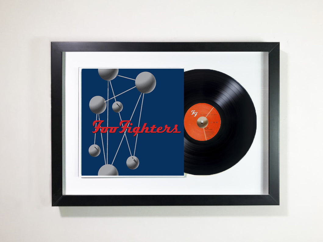 Foo Fighters- The colour and the Shape Framed 12