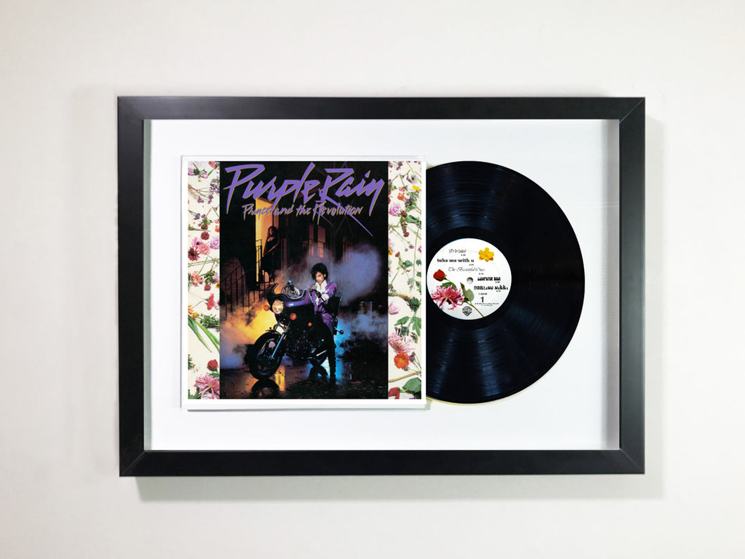 Prince- Purple Rain Framed 12