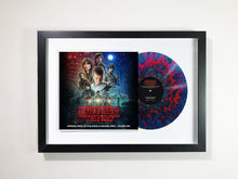 "Stranger Things Vol. 2 framed 12"" vinyl"