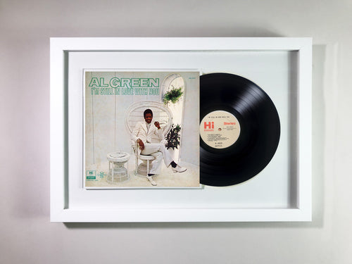 Al Green- I'm Still in Love with You Framed 12