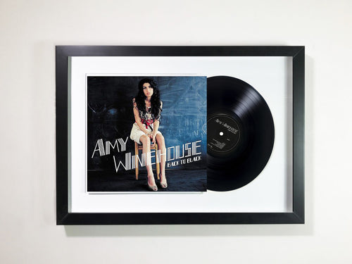 Amy Winehouse- Back To Black Framed 12